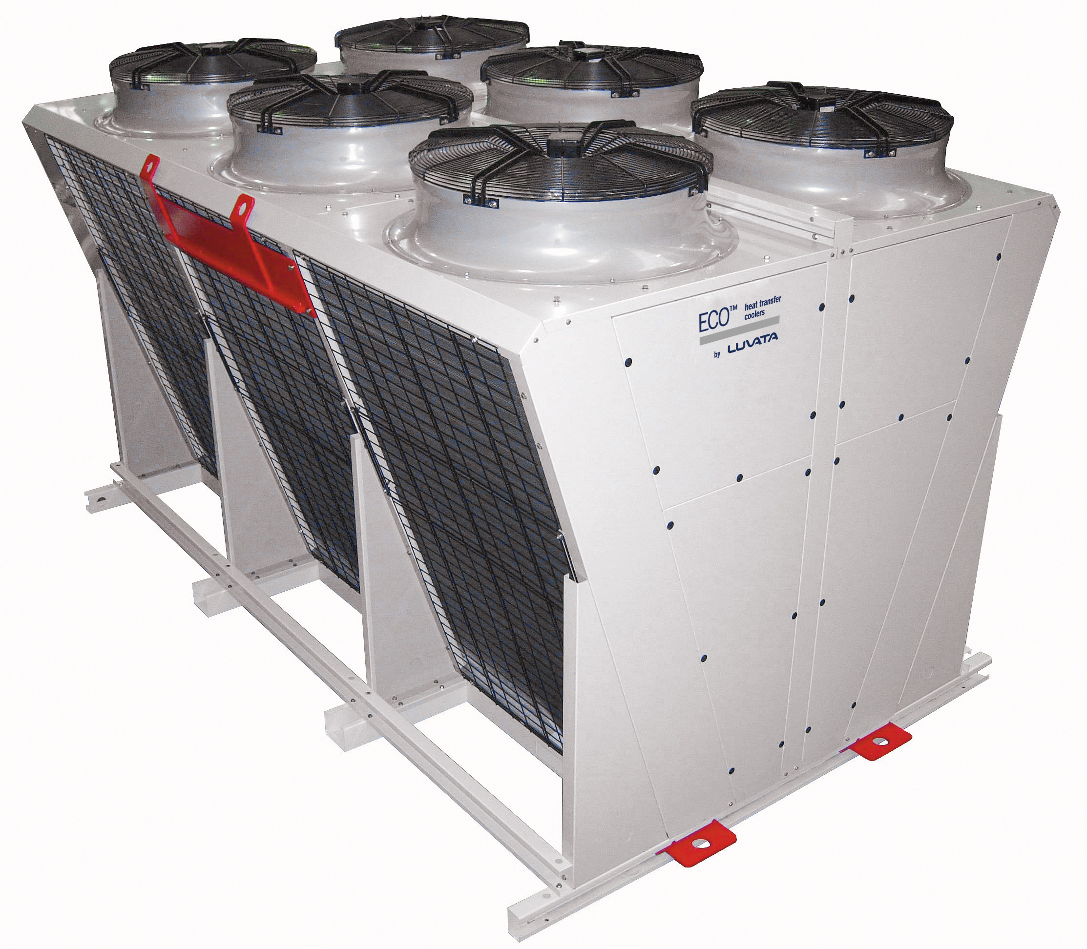Brian Bazzett - VCC_Air cooled condensers-dry coolers and gas coolers two coils with V config for industrial apps-suitable for containers