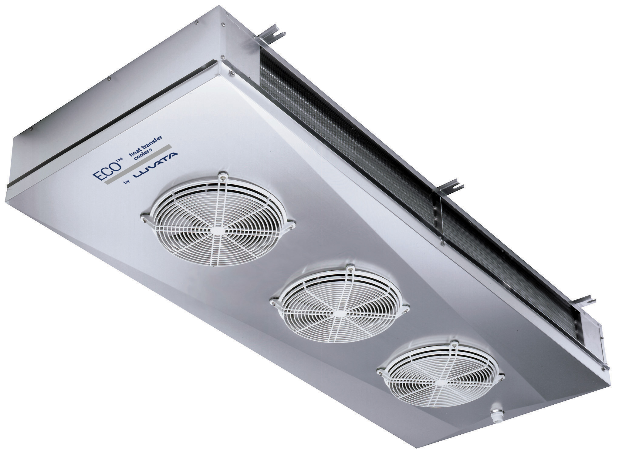 DFE_Dual discharge unit coolers and brine coolers for commercial cold rooms